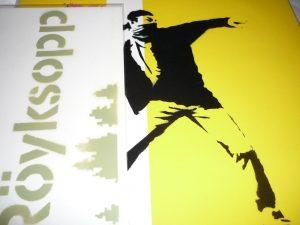 banksy minimal art family maf tv dj probaterem pioneer roykshoop