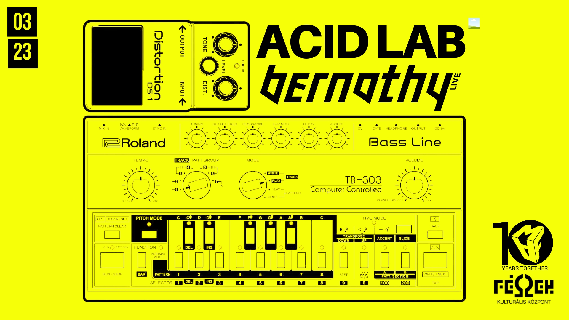 acid lab minimal art family maf tv bernathy zsiga