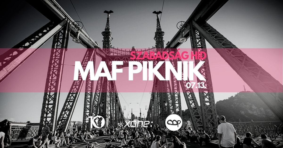 MAF Miniamal Art Family deep house budapest daytime party